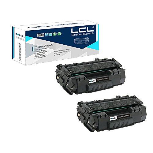LCL Cartucho de Tóner Compatible 49A 49X Q5949A Q5949X 6000Páginas (2 Negro) Reemplazo para HP Laserjet 1320/1320N/1320TN/3390MFP/3392MFP