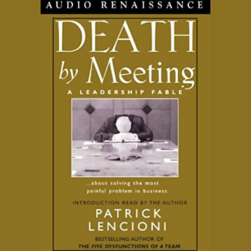 Page de couverture de Death by Meeting