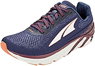 ALTRA Women's Torin 4 Plush Road Running Shoe, Navy/Plum - 8.5 M US