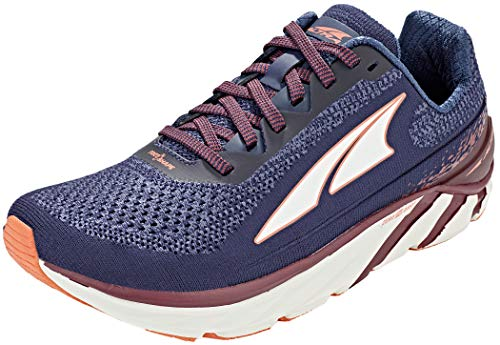 ALTRA Women's Torin 4 Plush Road Running Shoe, Navy/Plum - 9.5 M US