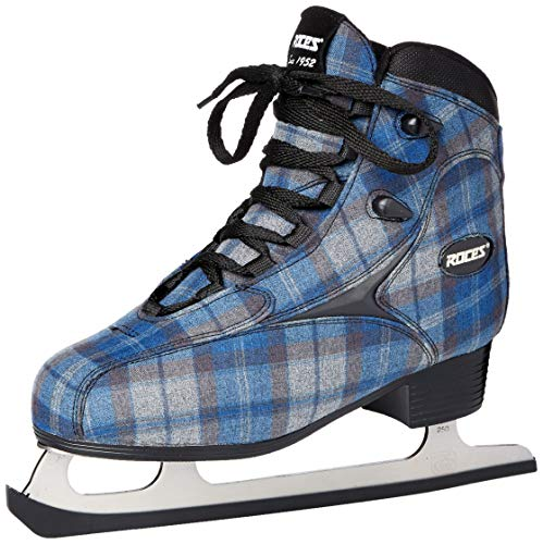 Roces 450647 Women's Model Logger Ice Skate, US 7, Blue/Grey