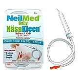 SQUIP Baby NäsaKleen Nasal Aspirator, Baby Shower Gift and Registry Necessity, 51 Piece Set
