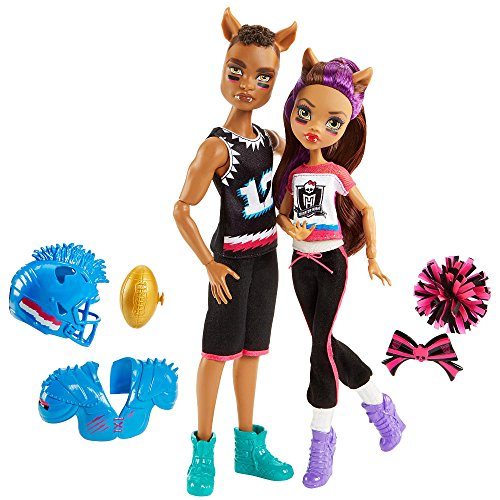 Monster High Winning Werewolves Clawdeen Wolf and Clawd Wolf