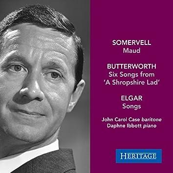 John Carol Case Sings Somervell, Butterworth and Elgar