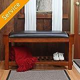 Storage Bench Assembly