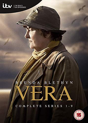 Vera Series 1-9 [DVD] [2018]