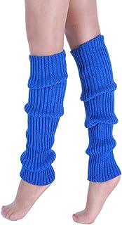 Moda casual para mujer Punto trenzado Mantener caliente Calentadores de la pierna Calcetines Cubierta de la bota Calcetines de la pierna
