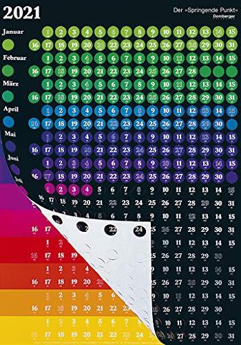 Der Springende Punkt schwarz 2021 57,5x81: Das Original