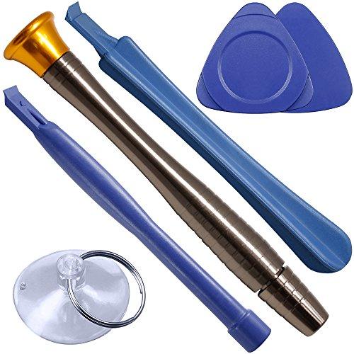 SourceTon 30-teiliges Präzisions-Schraubendreher-Set, Reparatur-Werkzeug-Set, mit Ratsche, Metallgriff, kompatibel mit iPad, Handy, Laptop, iPhone, Tablet, MacBook, Spielkonsole.