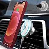 Sindox MagSafe Magnetic Wireless Car Mount Charger 15W Max PD Fast Charging Air Vent Phone Holder Stand, USB Type C, Compatible with iPhone 12 Series/12 mini/12 Pro Max and Official MagSafe Cases
