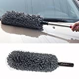 VRT Microfiber Retractable Type Round Car Cleaning Duster Brush Mop for All Cars