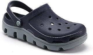 DSFKS Unisex Lightweight Garden Clog Water Slip On Shoes (M,39)