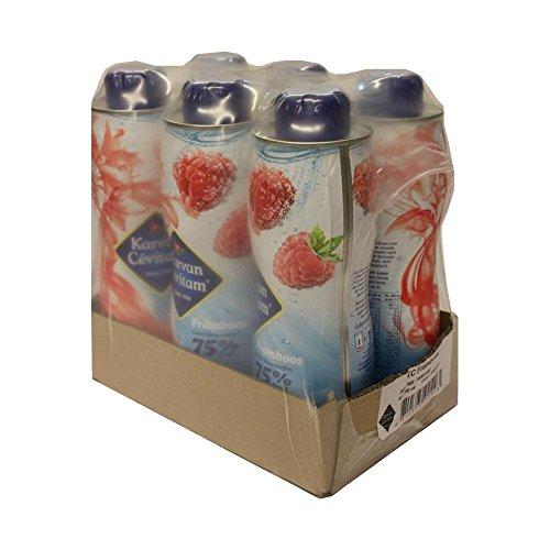 Karvan Cevitam Framboos 6 x 750ml Flaschen (Getränke-Sirup Himbeere)