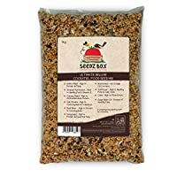 Ultimate Deluxe Cockatiel Bird Food Seed Mix - 1kg Bag - Your Cockatiels Will Tell The Difference. SeedzBox sources only the very finest bird seed mixes - please read our high quality ingredients list - there are no fillers. We donate 5% of all our S...