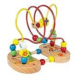 WOOMAX - Laberinto con figuras de madera y ventosas (ColorBaby 43631)