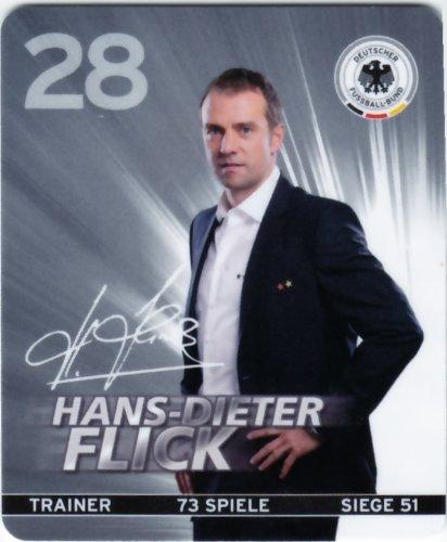 REWE DFB 2012 Sammelkarte - Nr. 28 Hans-Dieter Flick - NEU