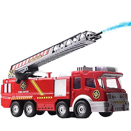 Simulation jouet pour enfant, Camion Pulvérisateur De Pulvérisation De Pulvérisation De Pompiers Jouets Éducatifs Camion De Pompiers Non Toxiques Pour les cadeaux de jouets pour enfants