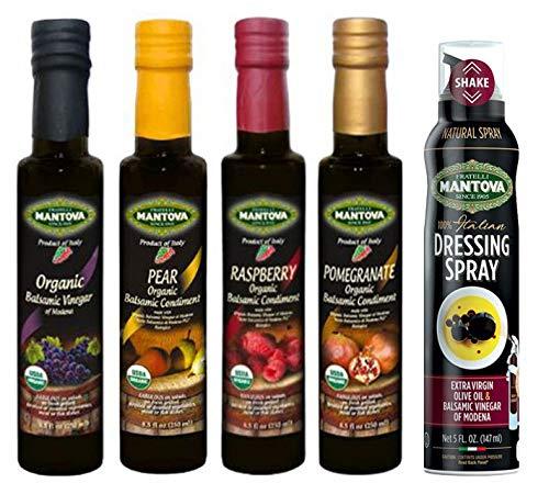 Mantova Organic Flavored Balsamic Vinegar
