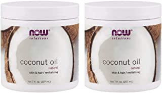 Now Foods Pure Coconut Oil, 7 oz (Pack of 2)