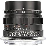 Lifoto 35mm f/1.4 lente de enfoque manual lente de cámaras de marco completo para Nikon E