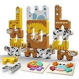 Juego de Bloque de Animales, INPHER Bloques de Construcción para Niños, Puzzles de...
