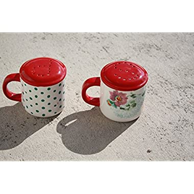 The Pioneer Woman Country Garden Decorated Range Top Salt & Pepper Shakers
