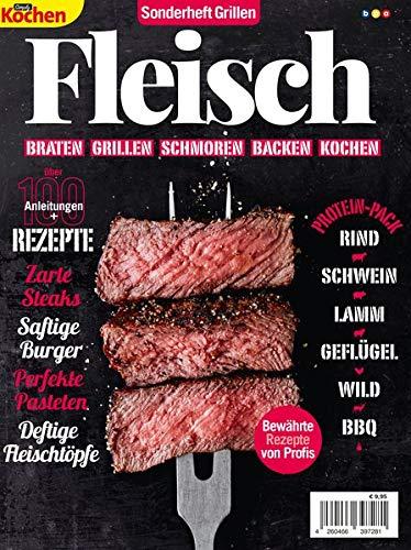 Simply Kochen Sonderheft Grillen: Fleisch: Braten, Grillen, Schmoren, Backen, Kochen