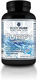 Purify By Body Fuse Usa: All Natural, Gentle, Highly Effective Gastro Intestinal Tract Cleanser to Prevent Bloating, Water...