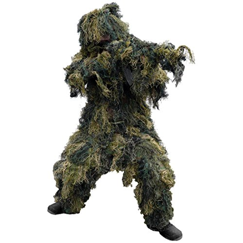 Mil-Tec Ghillie Suit 4 pcs. Woodland Size XL/XXL