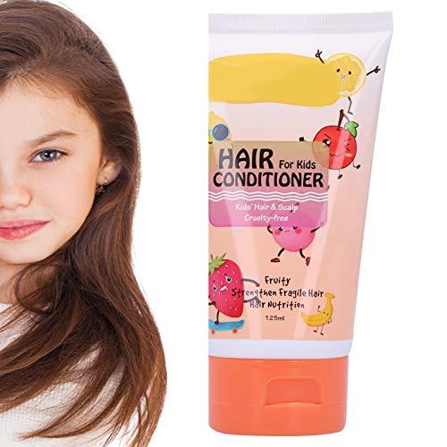 Acondicionador para el cabello para niños, Aminoácido Mascarilla para el cuidado del cabello suavizante sin estimulantes suave y agradable para la piel 125 ml