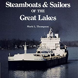 Steamboats and Sailors of the Great Lakes  audiobook cover art