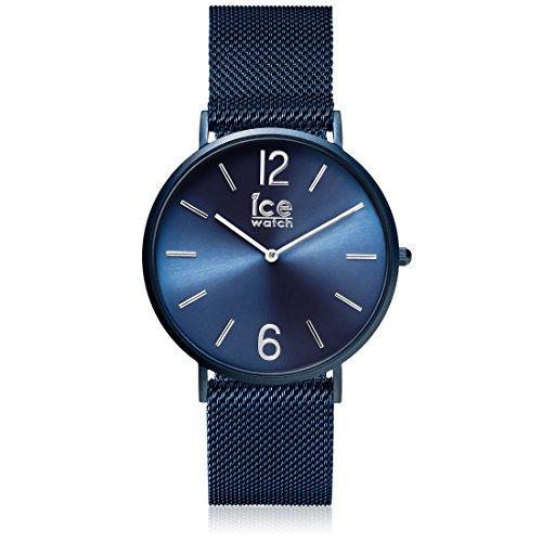 ICE-WATCH Männer Analog Quarz Uhr mit Edelstahl Armband 012712