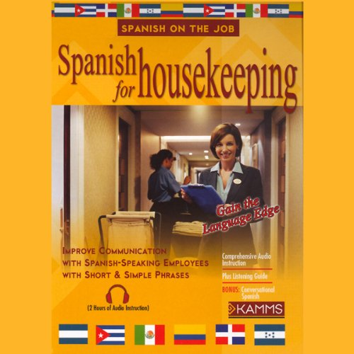Spanish for Housekeeping audiobook cover art