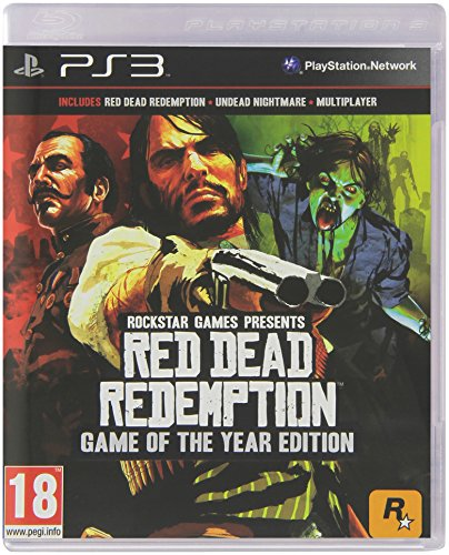 Rockstar Games Red Dead Redemption Game of the year edition, Edizione Europea, PS3