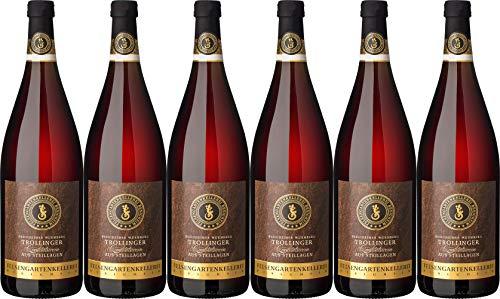 Felsengartenkellerei Besigheim Besigheimer Wurmberg Trollinger 1L Wein aus Steillagen 2018 Feinherb (6 x 1.0 l)