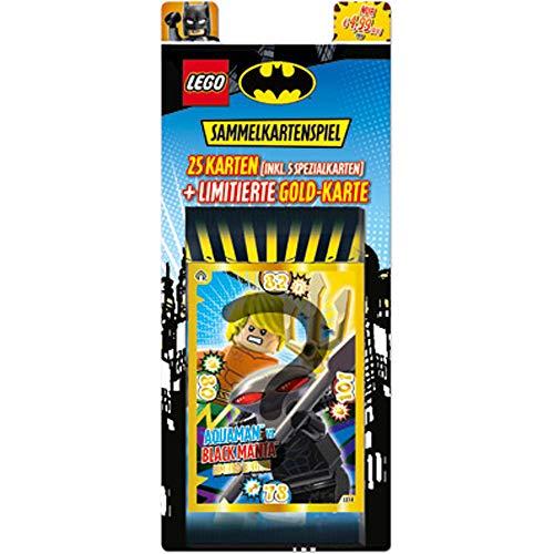 LEGO coleccionables Batman, 5 Sobres y Carta Dorada de edicin Limitada, Color carbn (Top Media 180514)