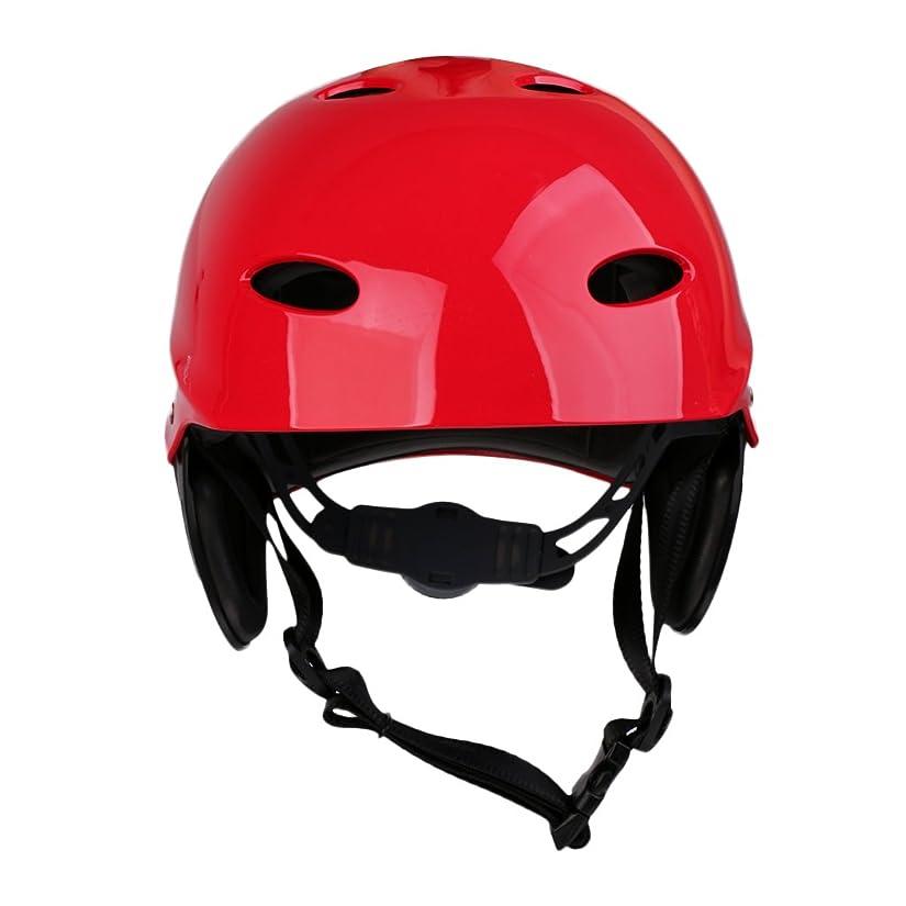 大胆不敵外交問題彼らはP Prettyia 全6色 大人 子供 水 スポーツ 安全 ヘルメット カヤック カヌーサーフ ハード キャップ