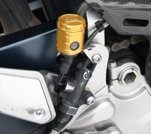 GSG Bremsflüssigkeitsbehälter gold eloxiert Hinten Yamaha MT-01 RP12 05-06 ABE
