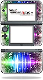 MightySkins Skin for Nintendo 3DS XL (2015) - Music Man | Protective, Durable, and Unique Vinyl Decal wrap Cover | Easy to Apply, Remove, and Change Styles | Made in The USA