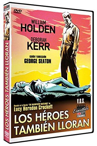 Los Héroes también Lloran (The Proud and Profane) V.O.S. 1956 [DVD]