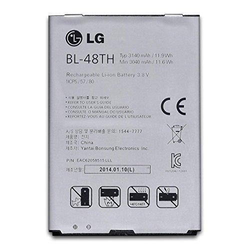 Akku - LG BL-48TH - E986 Optimus G Pro - 3140mAh - Accu, Batterie
