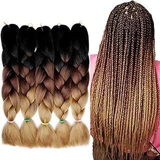 Best pink ombre braiding hair Reviews