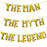 The Man The Myth The Legend Balloon  ...