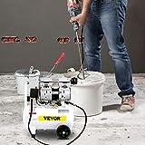 VEVOR Compresor de Aire 850W 220V Compresor Silencioso con Tanque 14 L Compresor de Aire sin Aceite 8 Bar/115PSI Compresor de Aire 165 L/min Portátil 1440 RPM 5,9 CFM para Herramienta Neumática