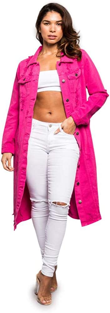 Ranking TOP9 American Bazi Women's Jacket 5 ☆ popular Denim Destroyed