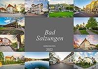 Bad Salzungen Impressionen (Wandkalender 2022 DIN A2 quer): Momentaufnahmen aus dem schoenen Stadt Bad Salzungen (Monatskalender, 14 Seiten )