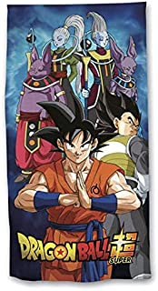 NEW IMPORT Toalla Dragon Ball Super Microfibra Playa Piscina 140X70cm