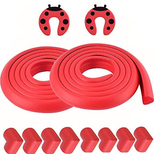 Borde y protectores de la esquina del bebé de corrección de espuma - Muebles Protectores de parachoques mesa de seguridad - Esquina del amortiguador Conjunto