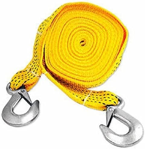 20ft 40% OFF Cheap Sale Nylon Tow Strap Capacity 5500lb Hooks Reservation Springloaded