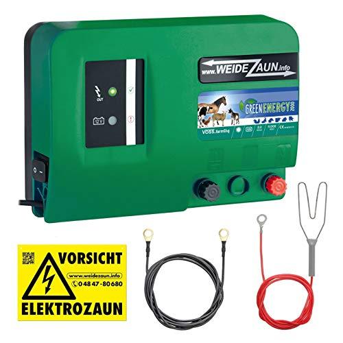 VOSS.farming 12V 230V GreenEnergy Weidezaungerät Weidezaun Netzgerät Elektrozaungerät Batteriegerät